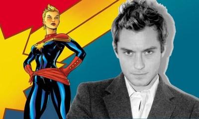 Jude Law é cotado para estrelar Capitã Marvel