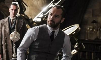 Confira Jude Law como Dumbledore em nova imagem de Animais Fantásticos: Os Crimes de Grindelwald