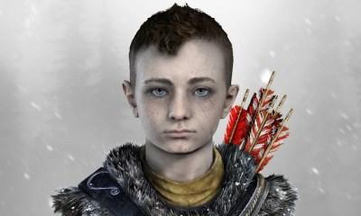 O filho de Kratos   Vídeo de God of War muda a perspectiva sobre o game