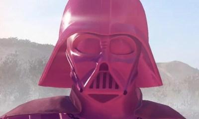 Star Wars Battlefront 2 | Game ganha mod cor-de-rosa de Darth Vader em protesto a EA