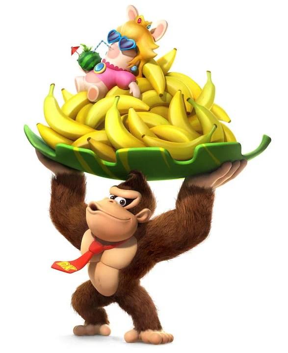 A Nintendo e a Ubisoft revelaram DLC inclui Donkey Kong no game Mario + Rabbids Kingdom Battle