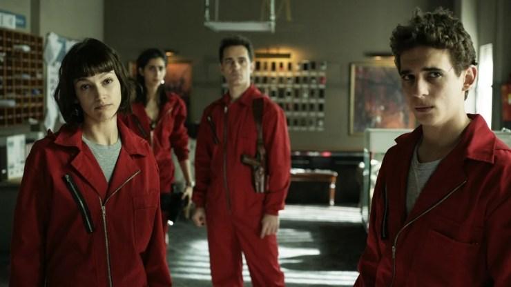 A 2ª temporada da série La Casa de Papel pode chegar à Netflix no final do ano