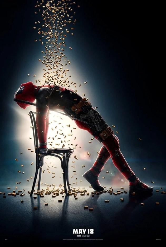Deadpool faz referência a Flashdance em novo pôster de Deadpool 2