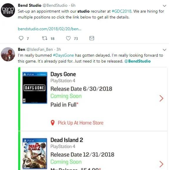Days Gone | Polêmica envolve data de lançamento do game