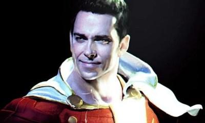 Shazam! | Filme ganha nova foto do personagem e vídeo revela o herói em ação. Confira