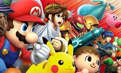 Super Smash Bros. será lançado para Switch. Fãs vão à loucura!