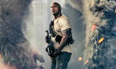 Rampage | Dwayne Johnson afirma não temer a maldição dos games no cinema