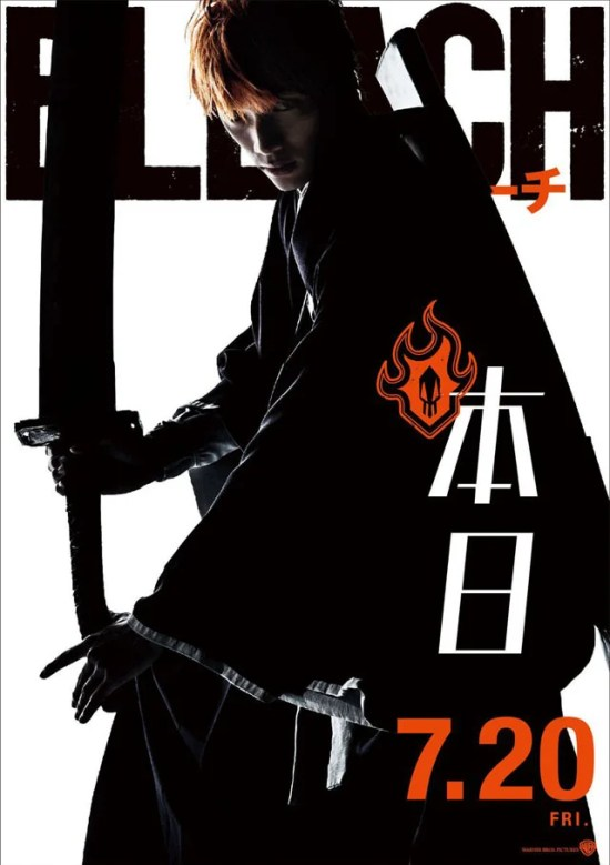 Bleach | Filme live-action ganha novo trailer revelando personagens