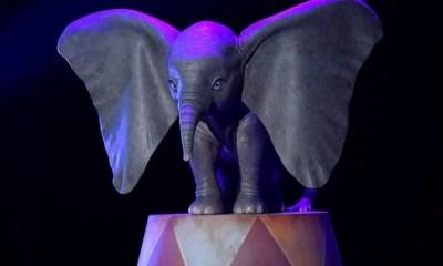 Confira a primeira imagem de Dumbo no live-action dirigido por Tim Burton