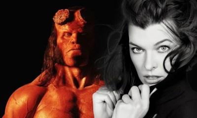 Responsável por interpretar a vilã Nimue, Milla Jovovich revela novo pôster de Hellboy