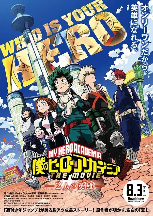 My Hero Academia The Movie recebe primeiro teaser. Confira!