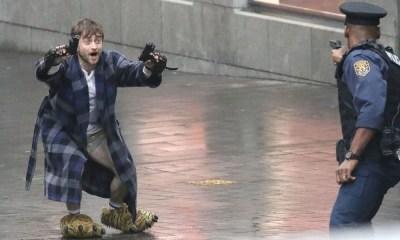 Guns Akimbo   Filme com Daniel Radcliffe ganha primeiras imagens e vira meme na internet