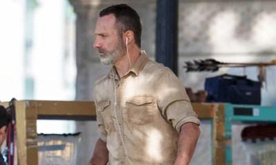 The Walking Dead | Imagens da 9ª temporada mostram novo visual de Rick e misteriosa arma