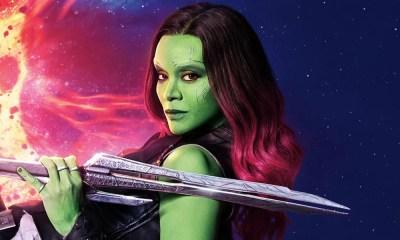 Zoe Saldana, a Gamora de Vingadores: Guerra Infinita, ganha estrela na Calçada da Fama