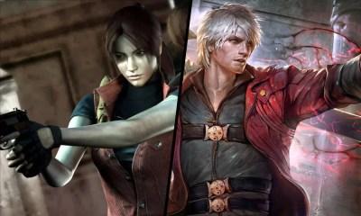 Capcom registra sites de Devil May Cry 5 e Resident Evil 2 Remake