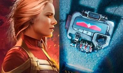 Capitã Marvel é destaque em poster chinês comemorativo de Vingadores: Guerra Infinita