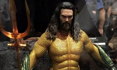 Aquaman | Mais evidência de que Jason Momoa aparecerá com uniforme clássico