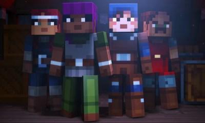 Minecraft:Dungeons | Mojang anuncia RPG baseado em universo do game