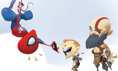 Com chegada de Spider-Man ao PS4, estúdio de God of War faz homenagem cômica