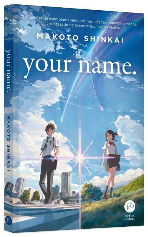 Your Name   Verus Editora lançará livro em versão física e digital