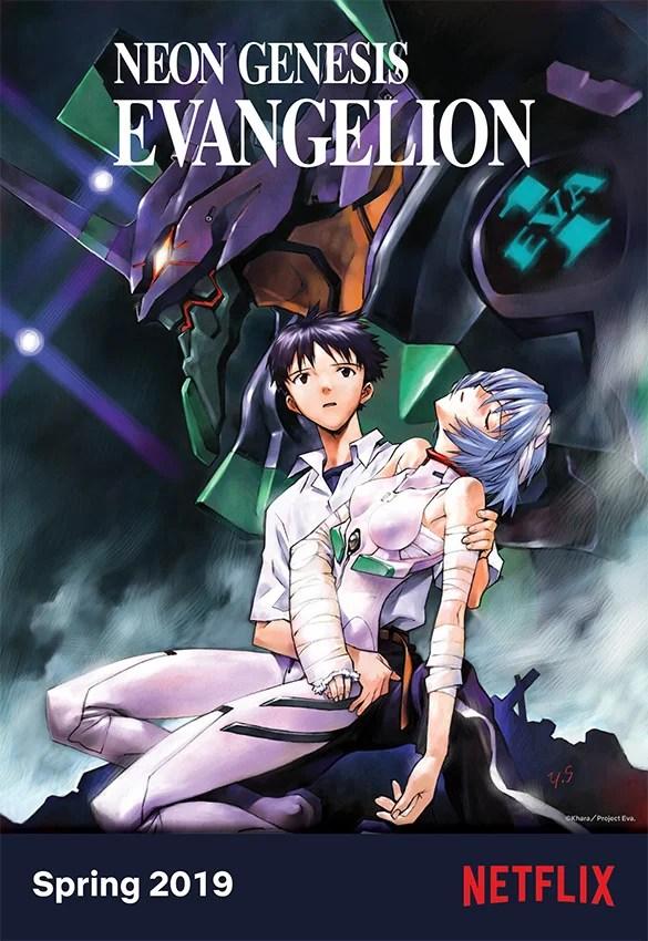 Netflix anuncia chegada do anime Evangelion ao catálogo em 2019