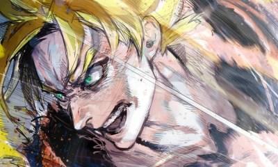 Sui Ishida, autor de Tokyo Ghoul, compartilha ilustração de Goku Super Saiyajin