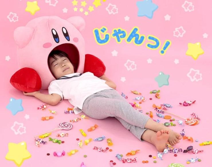 Bandai Spirits lança almofada fofa e divertida do Kirby
