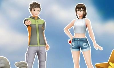 Pokémon GO   Roupas inspiradas em Brock e Misty já estão disponíveis
