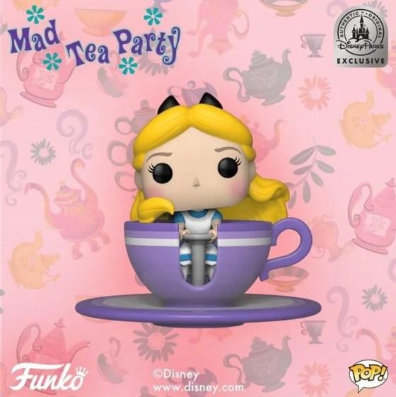 Alice at Mad Tea Party | Funko POP! exclusivo é lançado nos Parques Disney