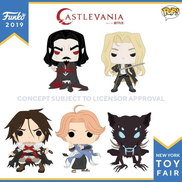 Castlevania | Funko lança figuras POP! dos personagens da série