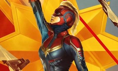 Capitã Marvel estampa capa da nova edição de colecionador da revista EW
