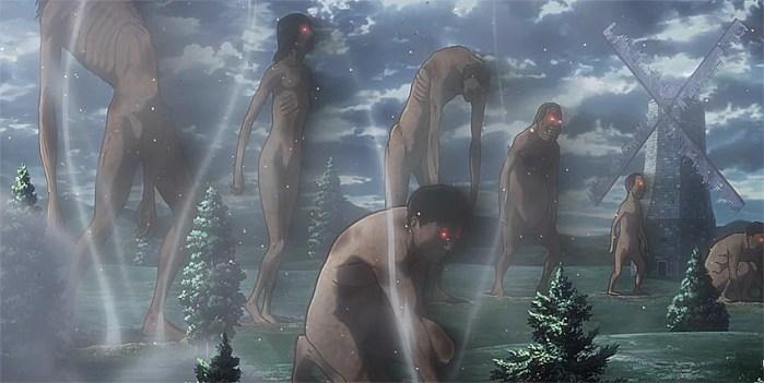 Attack on Titan   Mesmo fraco, episódio 50 anuncia guerra contra os titãs