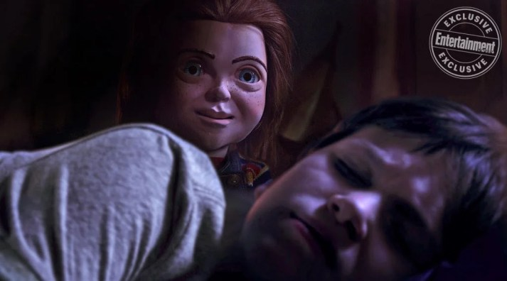 Brinquedo Assassino   Chucky observa Andy dormindo em nova foto do reboot