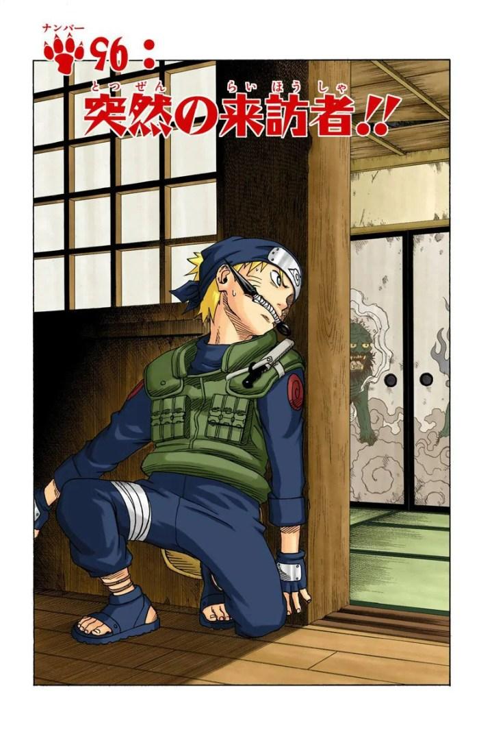 Naruto aparece como Jounin em ilustração oficial de Kishimoto