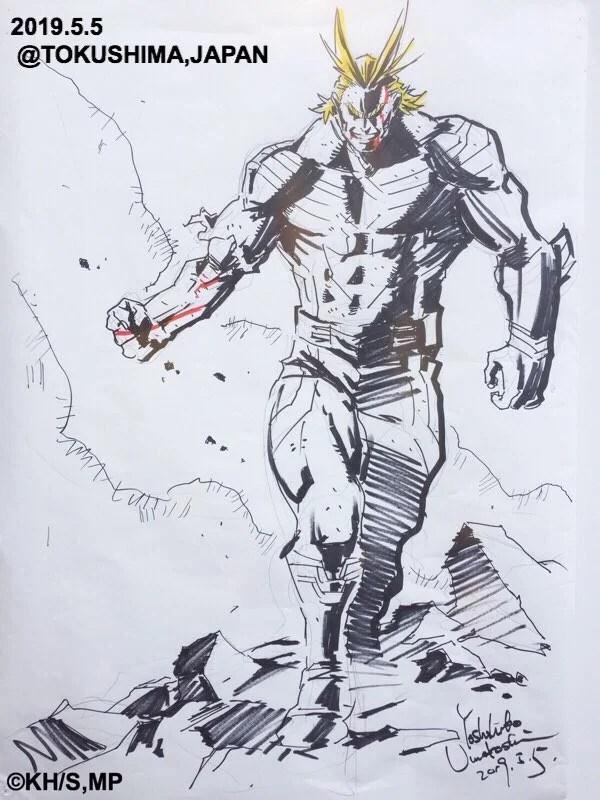 My Hero Academia | Ilustrações inéditas são compartilhadas por Umakoshi