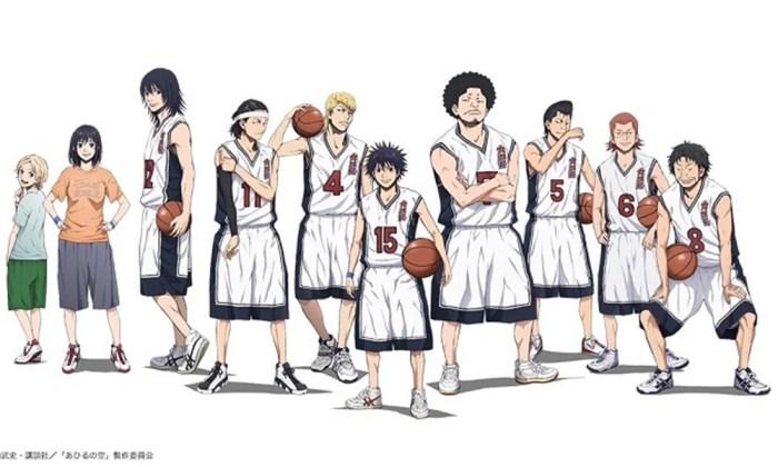 Ahiru no Sora | Novo anime sobre basquete estreia em outubro