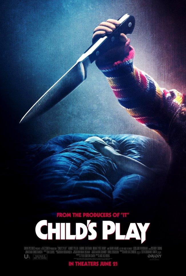 Novo poster de Brinquedo Assassino (Child's Play)