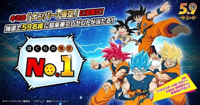 Dragon Ball | Eleja o seu Goku favorito no Goku Day 2019