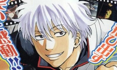 Mangá Gintama definitivamente chegará ao fim em junho