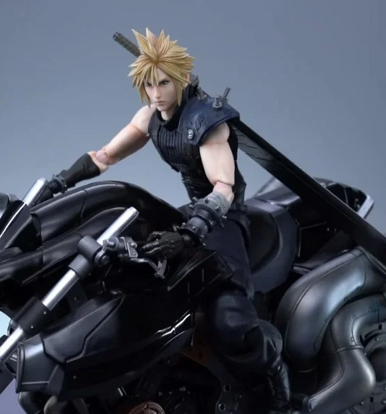 Final Fantasy VII | Square Enix apresenta figure especial do Cloud