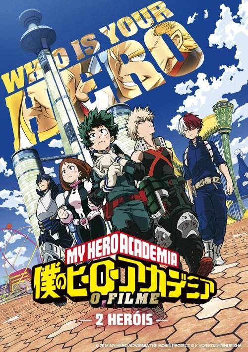 My Hero Academia: 2 Heróis | Divulgada lista de cinemas que exibirão o filme no Brasil