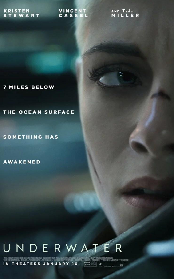 A atriz Kristen Stewart está de volta aos trabalhos, após atuar no vindouro remake de As Panteras, ela também poderá ser vista em Ameaça Profunda.