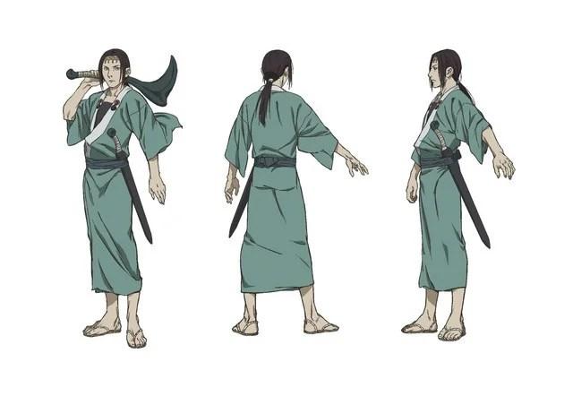 Blade: A Lâmina do Imortal | Novo anime tem design de personagens revelado