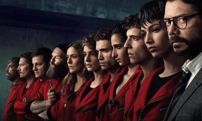 La Casa de Papel   3ª temporada bate recorde de visualizações