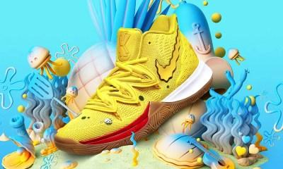 Nike lança linha de tênis do Bob Esponja Calça Quadrada
