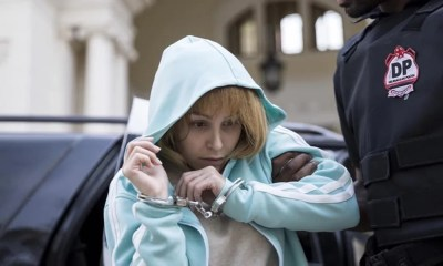 Carla Diaz aparece em novas fotos do filme sobre Suzane Von Richthofen