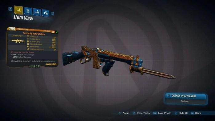 Rifles estilosos são uma marca registrada da série