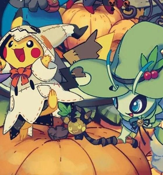 Festival de Halloween da Pokémon Center traz itens exclusivos