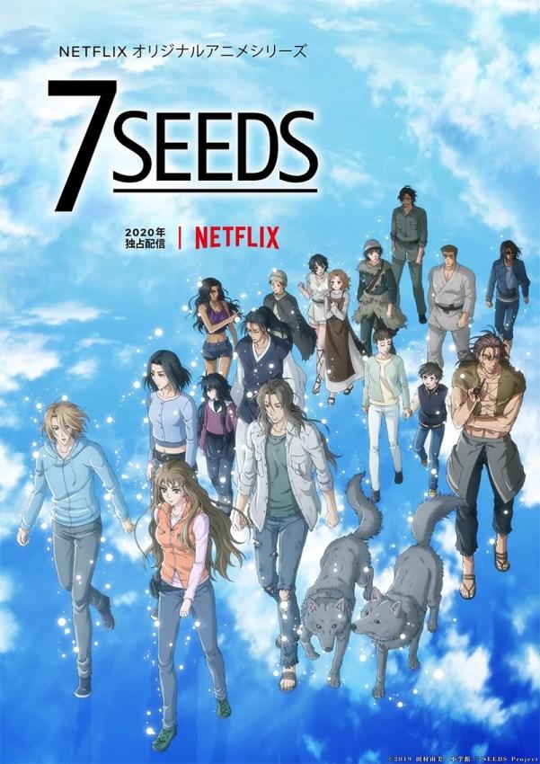 Poster da segunda temporada do anime 7SEEDS