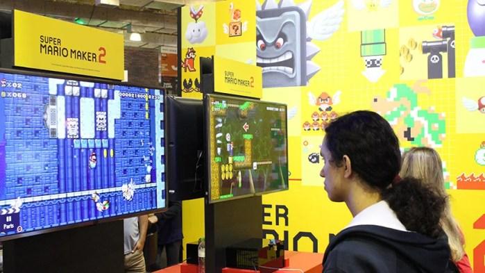 Super Mario Maker 2 na BGS 2019